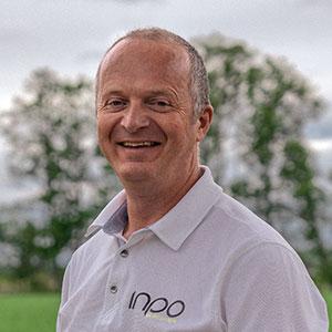 Portrettfoto av Mikal Bjåen i Inpo.